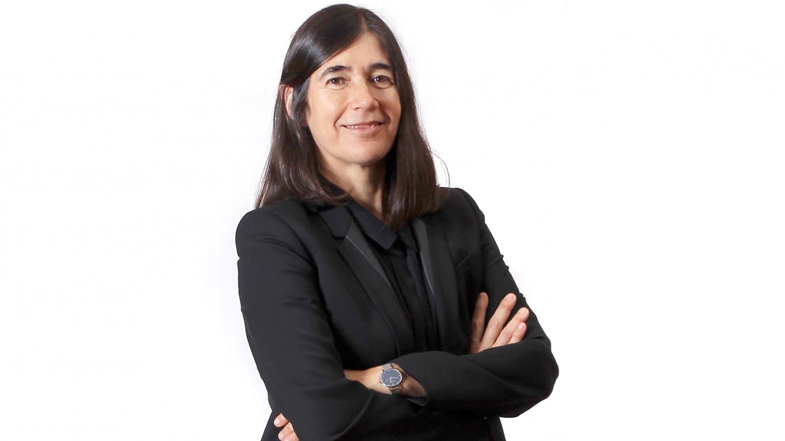 María Blasco durante una entrevista a El País Semanal.