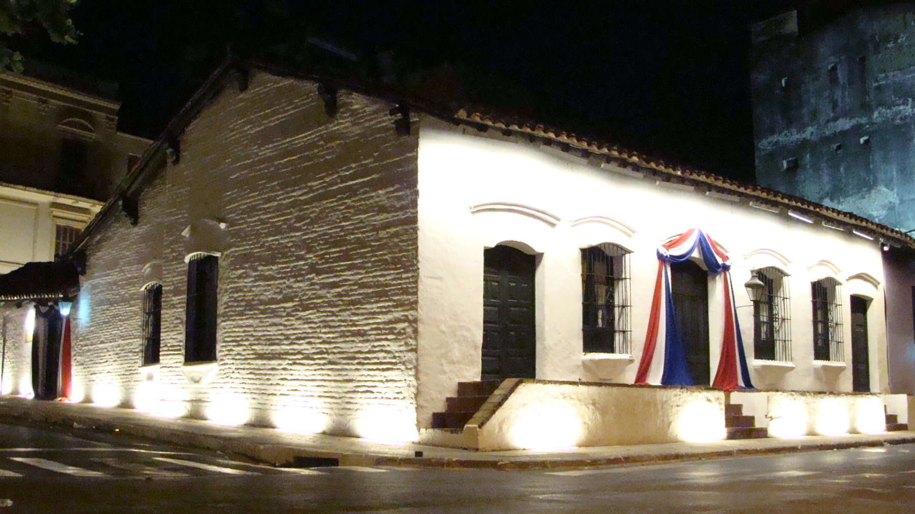 Casa de la Independencia, en Asunción, capital de Paraguay.