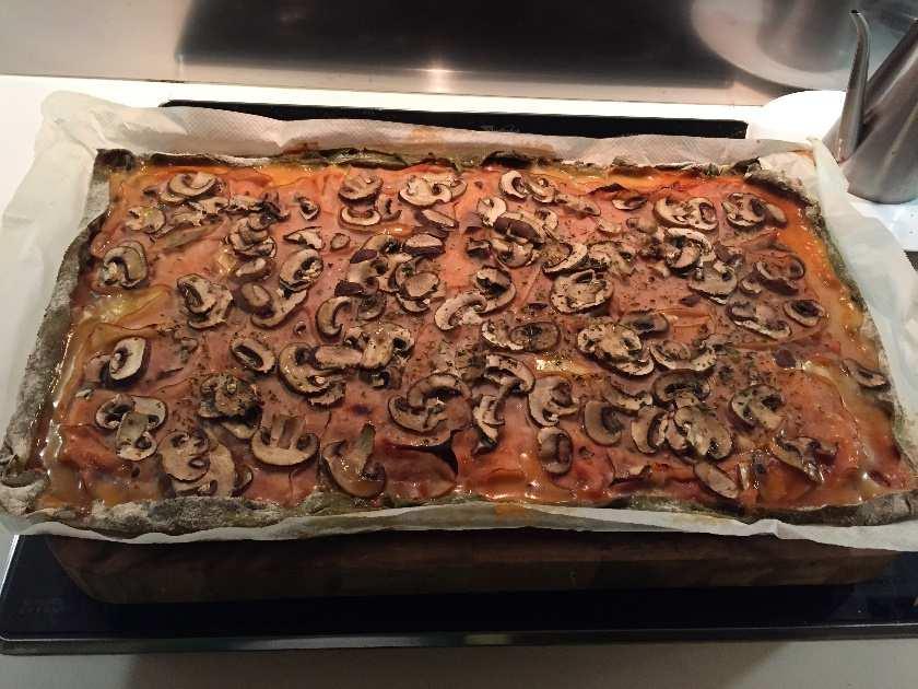 ¿Qué tiene de especial esta pizza? Un ingrediente: La Moringa, un aporte natural a tus platos.