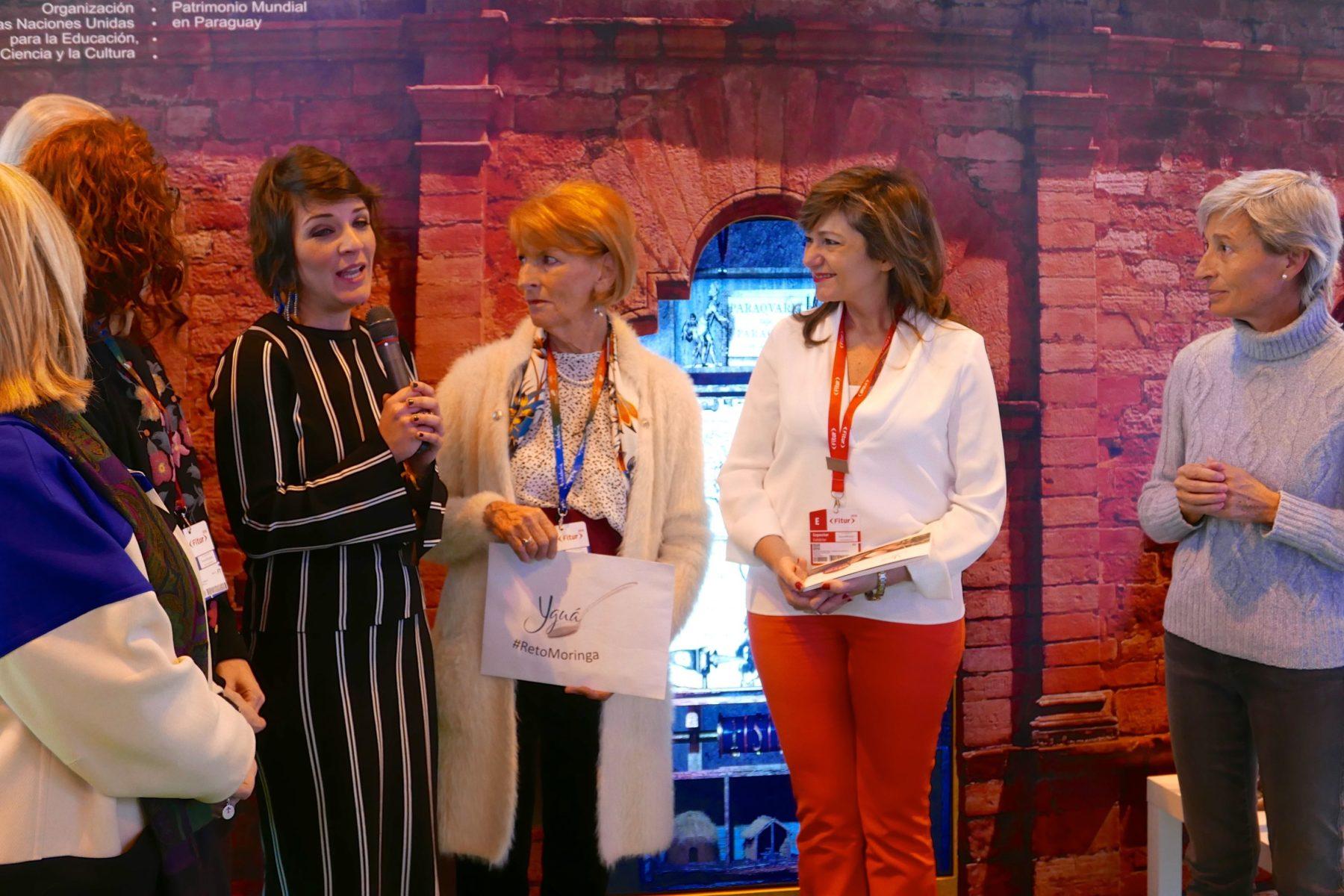 Antonella Ruggiero, Secretaria General de la Academia Iberoamericana de Gastronomía, expone al apoyo de la Academia al Proyecto Yguá.