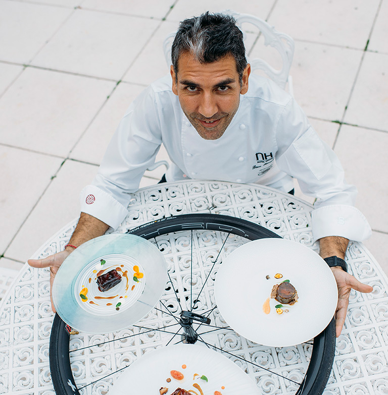 The Spanish chef Paco Roncero.